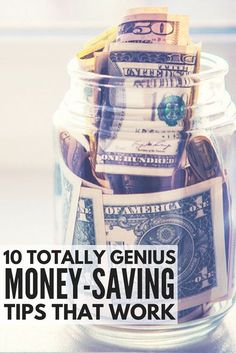 Want to know how to save money each week so you can stay ahead of your expenses and stop living paycheck to paycheck? Whether you're still in college, a stay-at-home mom surviving on one income, an entrepreneur who dreams of quitting the 9-5, or you're simply saving for a house or for a trip, we've got 10 genius money-saving tips for financial success. Number 8 is my favorite!