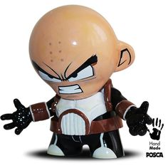 Munny Kidrobot 4 custom  Krilin Dragon Ball  Hand by CpassekCustom, €99.00