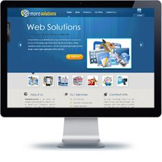 Emore Solutions Company website built with Wordpress.