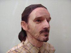Escultura papel 3D