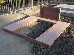 Horseshoe Pit With Composite Deck