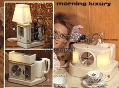 john moores mail order catalogues 1970s - Bing Images I remember Gran having a teasmade.