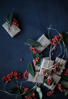 Mini DIY matchbox favors for the holidays
