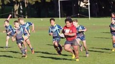Beast mode kid is clearly ready for the rugby big leagues