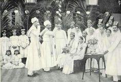 Parsi wedding, 1905