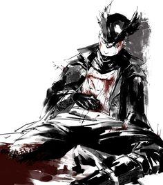 Dear Hunter, Blood Hunter, Bloodborne Art, Shadow Wolf, Soul Game, Old Blood, Fandom Games, Dark Pictures, Dark Souls