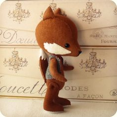 Fenwick the Fox pdf Pattern by Gingermelon on Etsy, $8.50