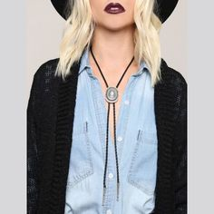 Out West Concho Bolo Tie - Gypsy Warrior