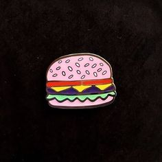 Burger pin from @winkpins To me, you are perfect... Buy it through the link in…