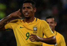 Venezuela 0-2 Brazil Gabriel Jesus 8', Willian 53'  Brazil jumped to the top of the CONMEBOL World Cup qualifying standings after seeing off Venezuela 2-0 in Merida. via @Goal #footballplanetcom #wcq2018 #gabrieljesus