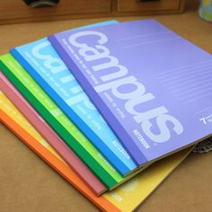 free shipping Campus b5 40 full multicolour soft copy notebook
