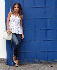 Lalá Noleto » Look do Dia – Bata + Jeans