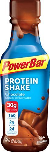 PowerBar Ready to Drink 30g Protein Shakes Chocolate 14 Fluid Ounce Pack of 12 *** More info could be found at the image url. #ProteinDrinks