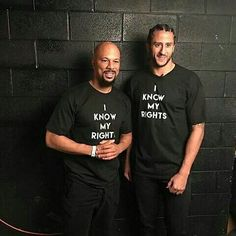 Common and Colin Kaepernick