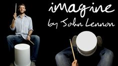 """""""Imagine"""" By John Lennon Bucket Drum Cover Bucket Drumming, Online Music Lessons, Middle School Music, Drum Cover, Imagine John Lennon, Music Lesson Plans, Drum Lessons, Music Activities, Movement Activities"""