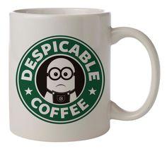despicable me minions coffee Mug 11oz Two Sides Coffee Tea Cup #MugDesign