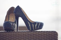Decorate your plain shoes to turn it into your very own magical Cinderella slipper Cinderella Slipper, Peeps, Peep Toe, Slippers, Decor Ideas, Detail, Shoes, Fashion, Moda