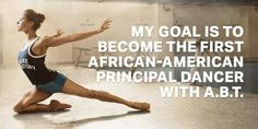 Misty Copeland became 1st African American principal in ABT's 75 year history.