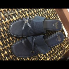 Beautiful Italian sandals MAN MADE IN ITALY So beautiful in super shape barely worn Italian Shoes Flats & Loafers