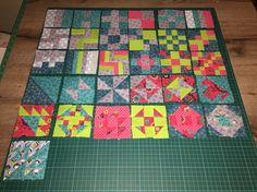 365 Challenge Quilt Blocks: Januari