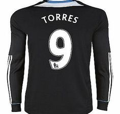 Chelsea Away Shirt Adidas 2011-12 Chelsea L/S Away Shirt (Torres 9) Buy the brand new Chelsea Long Sleeve away shirt for the 2011/12 Premiership season complete with Fernando Torres shirt printing.The new Chelsea football shirt is manufactured by Adidas and is availab http://www.comparestoreprices.co.uk/football-shirts/chelsea-away-shirt-adidas-2011-12-chelsea-l-s-away-shirt-torres-9-.asp