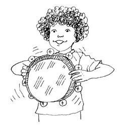 how to make a real tambourine