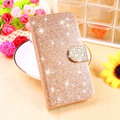 Glitter Bling Phone Cases For Samsung Galaxy Core LTE 4G SM-G386F Covers G386F G386W Shell Wallet Housing Bags Stand Flip Shield