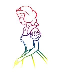 Rainbow Snow White - Snow White and the Seven Dwarfs