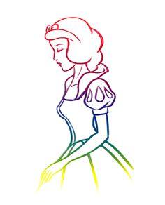 Rainbow Snow White - Snow White and the Seven Dwarfs