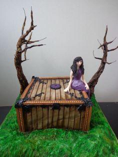 Pandora's Box Cake