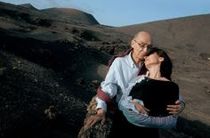 José Saramago & Pilar -- Nobel writer