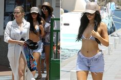 Kendall and Kylie Jenner Bikini With Khloe Kardashian During St. Barts Vacation
