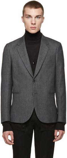 Paul Smith - Grey Marled Slim Suit Blazer