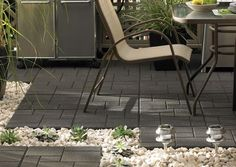 Rubber Tiles Made From Recycled Ontario Rubber Tires Are Great For Use On  Patios, Decks, Sidewalks, Pool Side And More.
