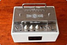 Fulltone Tube Tape Echo Tte.  I recently played on one of these.  Very cool!
