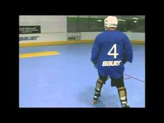 Inline Hockey Skating Backward Crossovers - http://hockeyvideocenter.com/inline-hockey-skating-backward-crossovers/