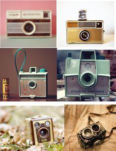 fun vintage cameras: seen on papersparrow.typepad.com@Nic Hildebrandt {luzia pimpinella}
