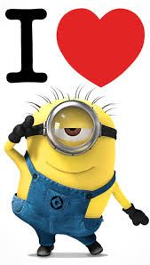 Wallpaper Phone Disney Minions Love New Ideas Amor Minions, Cute Minions, Minions Despicable Me, My Minion, Minions Quotes, Minions Cartoon, Minion Stuff, Cartoon Fun, Minion Banana