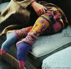 Ищу жаккардовые гольфы: ru_knitting