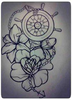 love nautical tattoo - Google Search