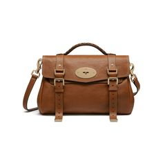 21a6455187 Classic   timeless Mulberry - Alexa in Oak Polished Buffalo Mulberry  Satchel