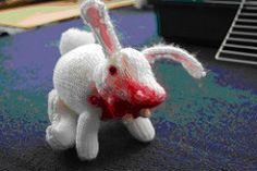 Ravelry: Run Away! aka the Killer Rabbit pattern by Knitting Magic Girl