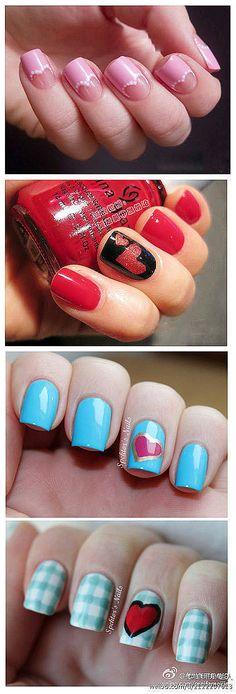 #valentines #nails