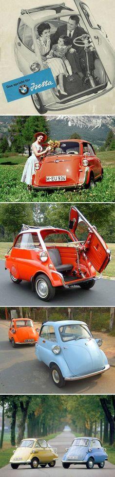 What a cute car!