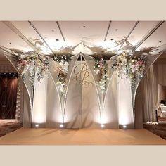 Backdrop Eth Decoration Decoration In 2019 Wedding Wedding Backdrop Design, Wedding Stage Design, Wedding Stage Decorations, Ceremony Backdrop, Wedding Designs, Floral Wedding, Rustic Wedding, Wedding Flowers, Wedding Photo Walls
