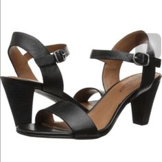 Lucky Brand Pepper Sandals Black Ankle Strap Sanda Size 7.5 Lucky Brand Pepper Sandals! Super comfy! Only worn once, so they are in amazing shape! Lucky Brand Shoes Sandals