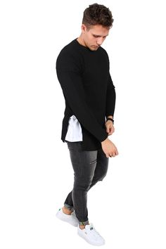 Sixth June M1206MKN Sweat Black