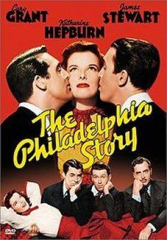 Historias de Filadelfia. Katherine Hepburn, Cary Grant, Jimmy Stewart, Ruth Hussey. 1940. Buena y bella película.
