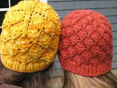Cappello ai ferri foliage   diLanaedaltrestorie