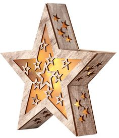 Illuminated star, contains chocolate truffles too! @Tesco #Christmas